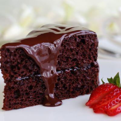 Moist Dark Chocolate Cake Recipe