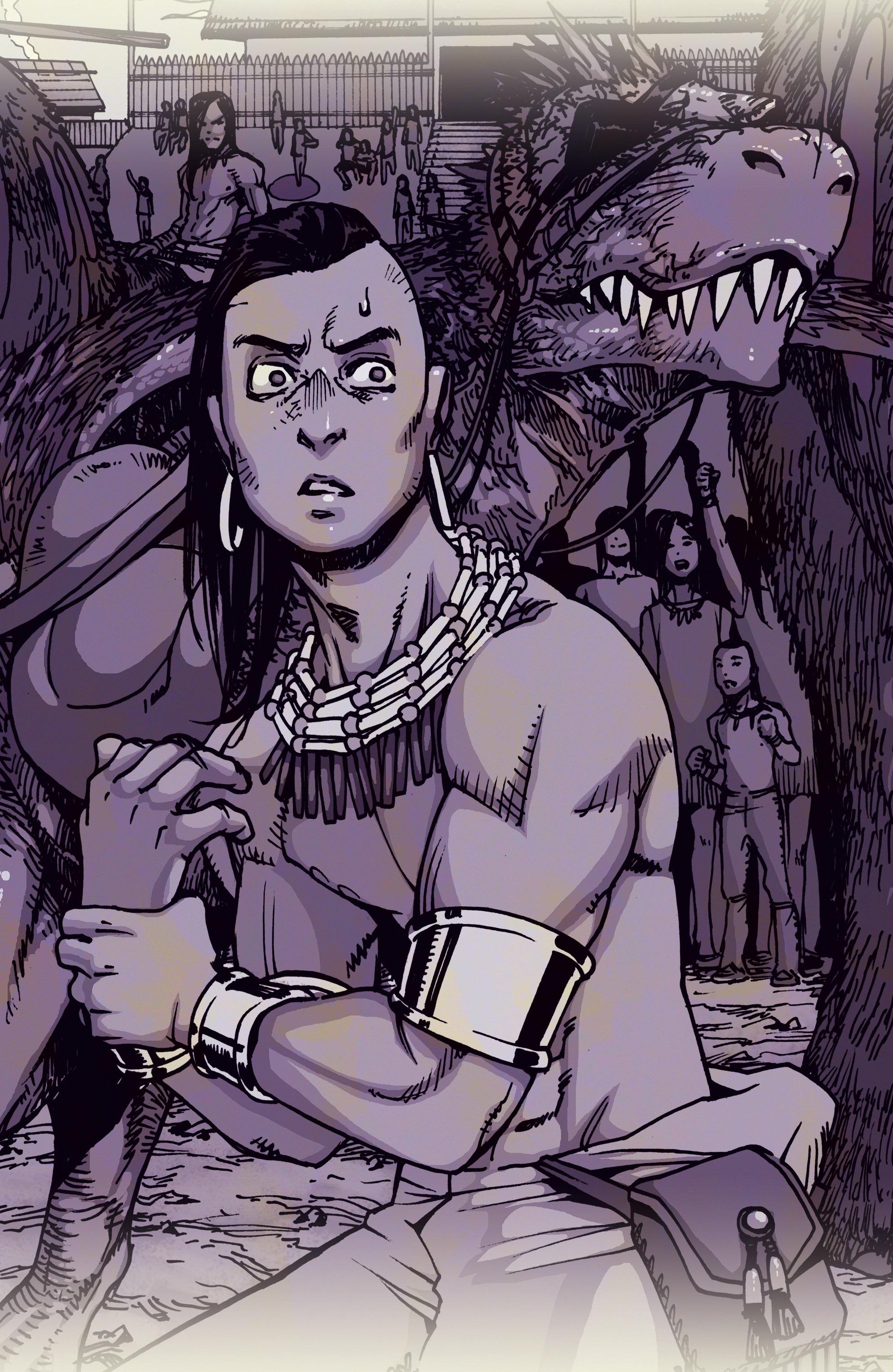 Read online Turok: Dinosaur Hunter (2014) comic -  Issue # _TPB 1 - 4