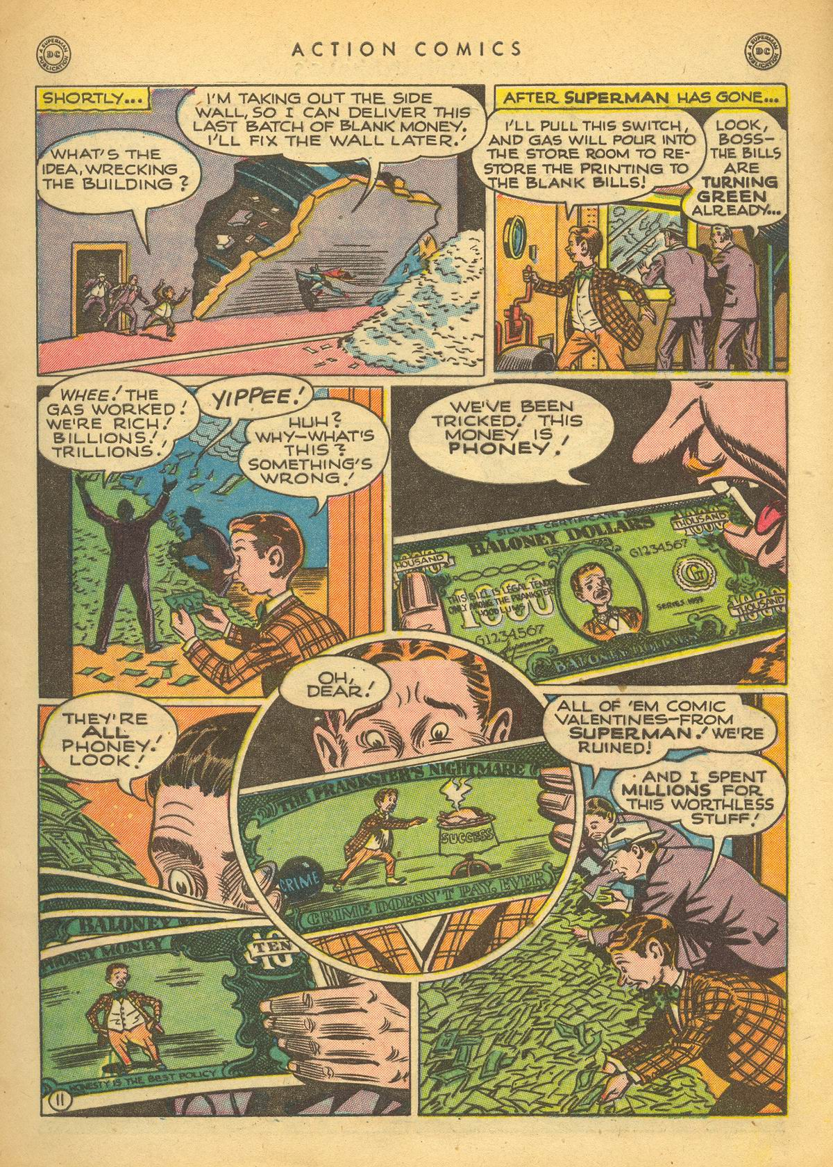 Read online Action Comics (1938) comic -  Issue #109 - 13