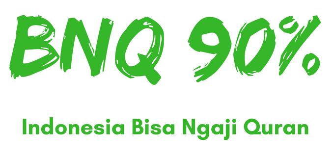 BNQ (Bisa Ngaji Quran) 90%