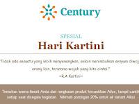 Century SPESIAL di Hari Kartini Disc 20 Persen variant Ailus