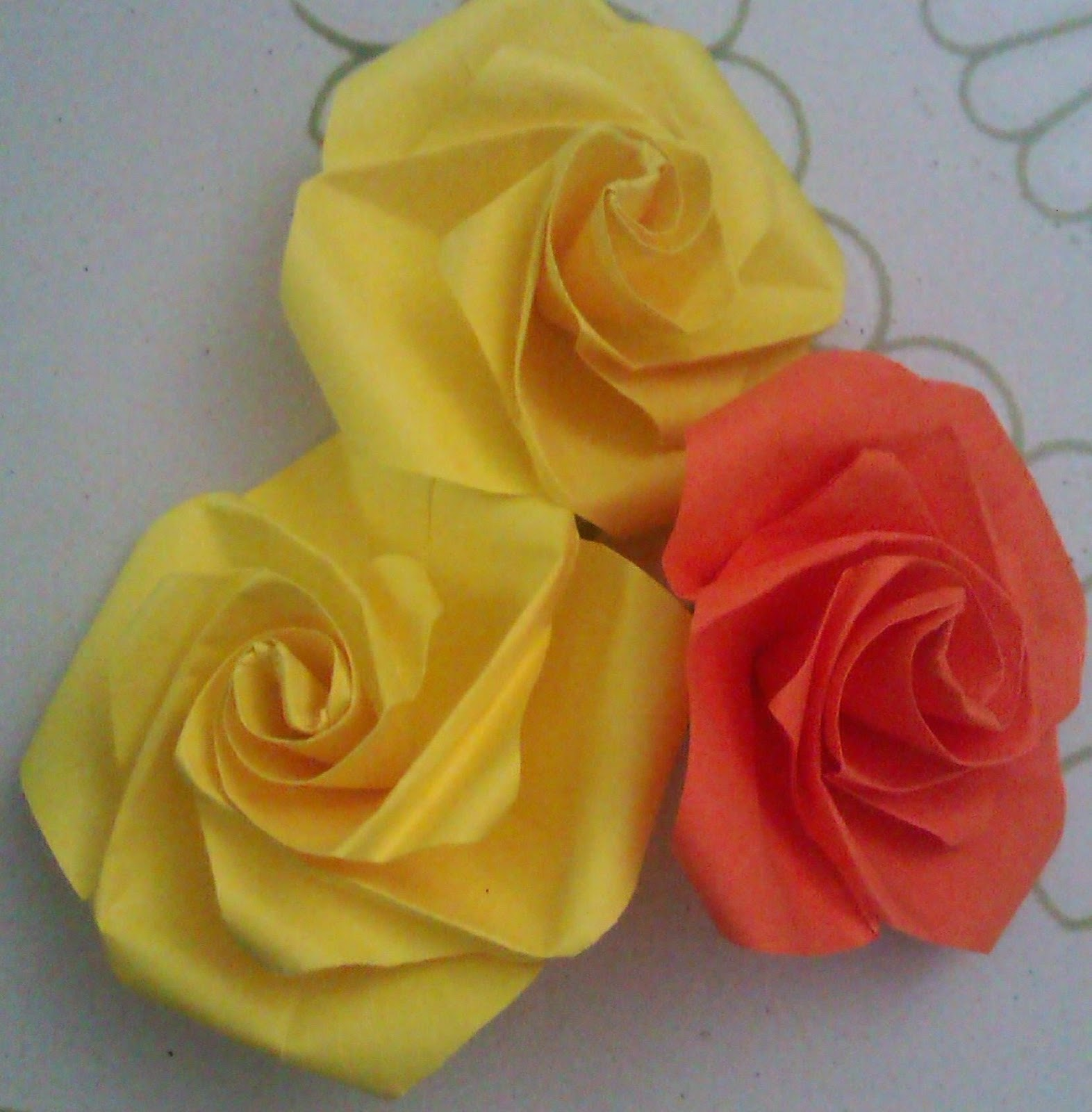 How To Make Easy Corrugated Paper Rose Step By