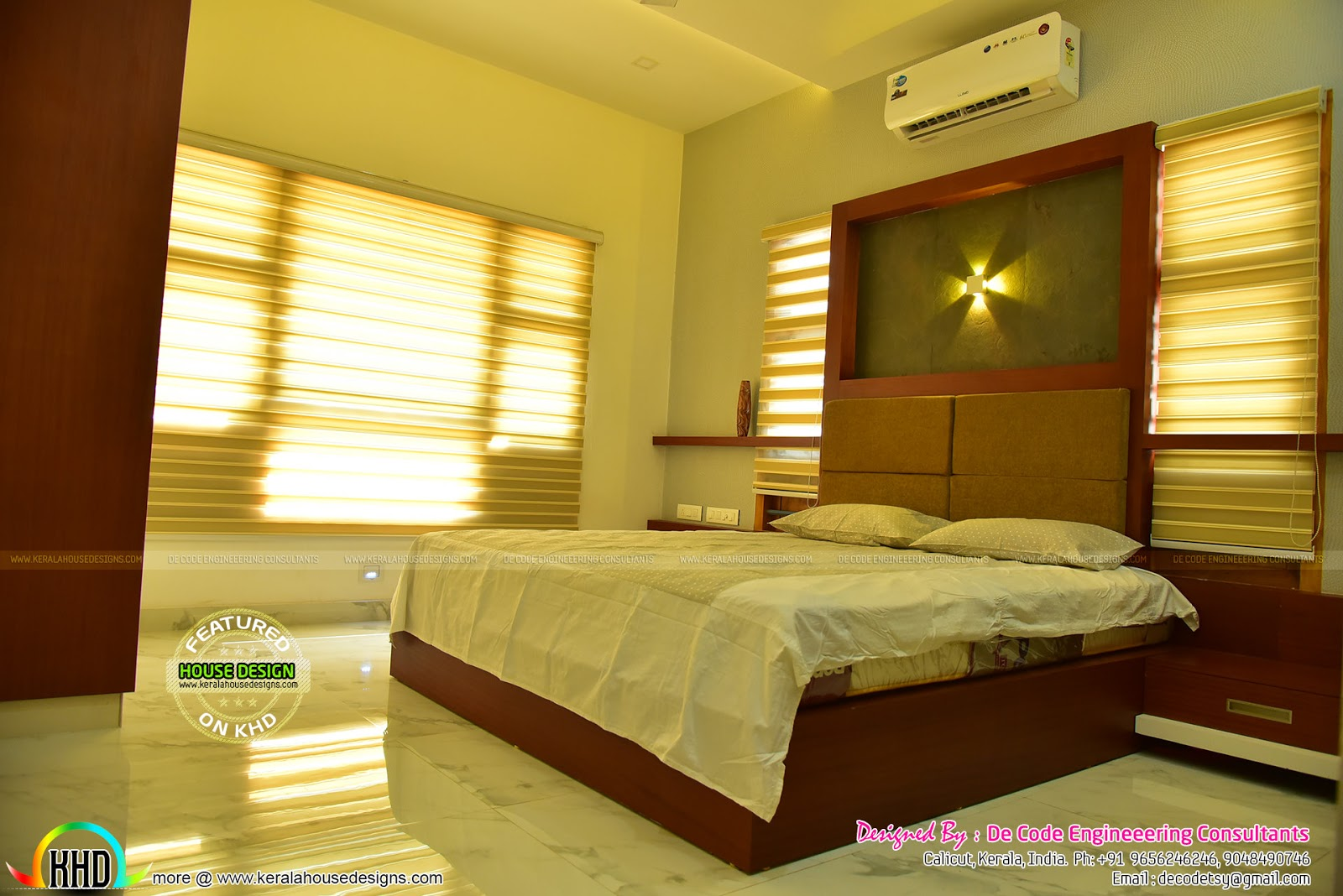 Finished Home And Interiors By De Code Engineering Kerala Home - Home design engineer