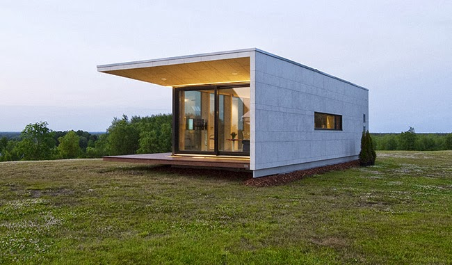 minicasa modular minimalista new casa minimalista