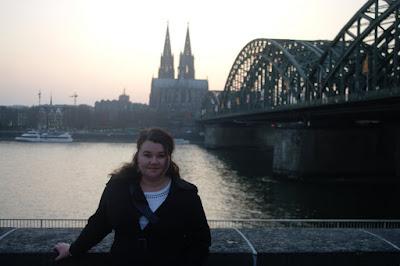 Wieczór w centrum Köln
