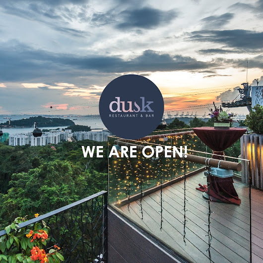 Betty's Journey: Introducing The All-New Dusk Restaurant & Bar @ Singapore