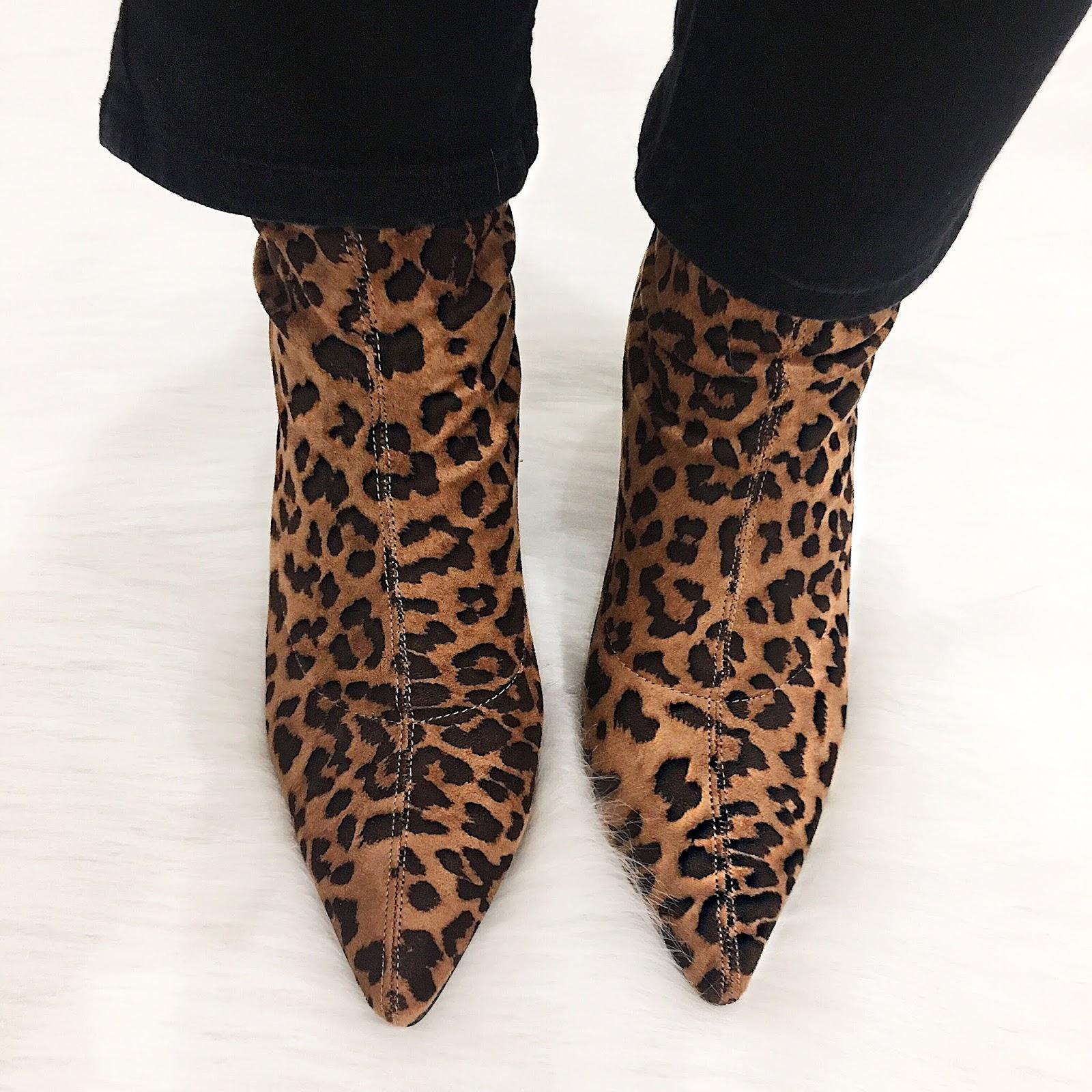 Leopard Print Boots