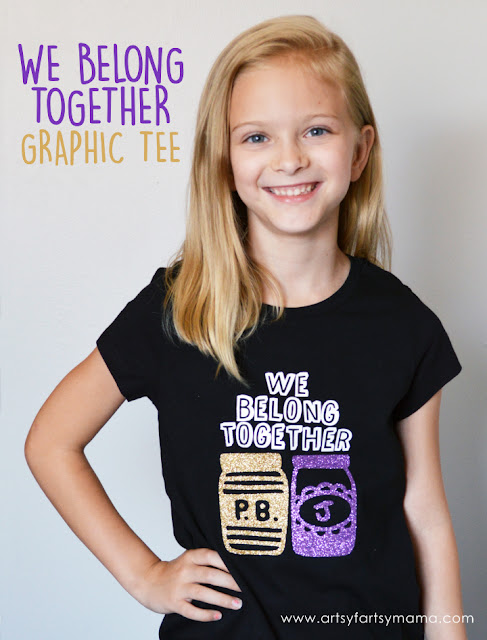 We Belong Together Graphic Tee at artsyfartsymama.com