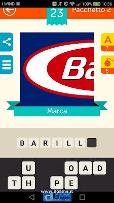 Iconica Italia Pop Logo Quiz soluzione pacchetto 2 livelli 23-50