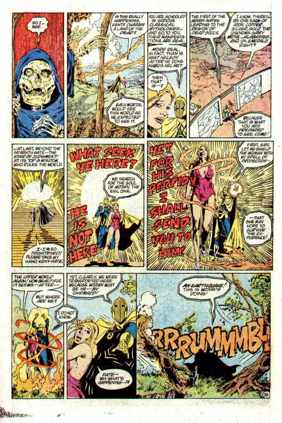 Read online Secret Origins (1986) comic -  Issue #24 - 36