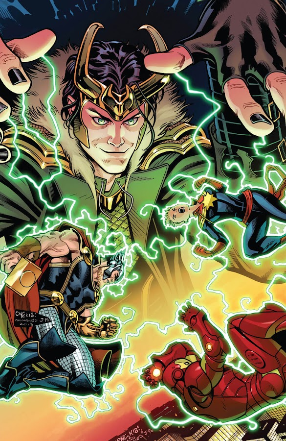 avengers vs loki marvel comics