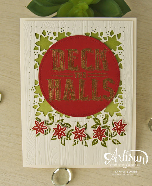 Carols of Christmas from Stampin' Up! makes getting your Christmas cards done easy! So many great ways to use it.