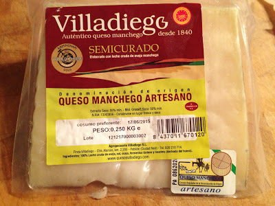Villadiego semi-cured manchego cheese from Grey's Fine Foods for review