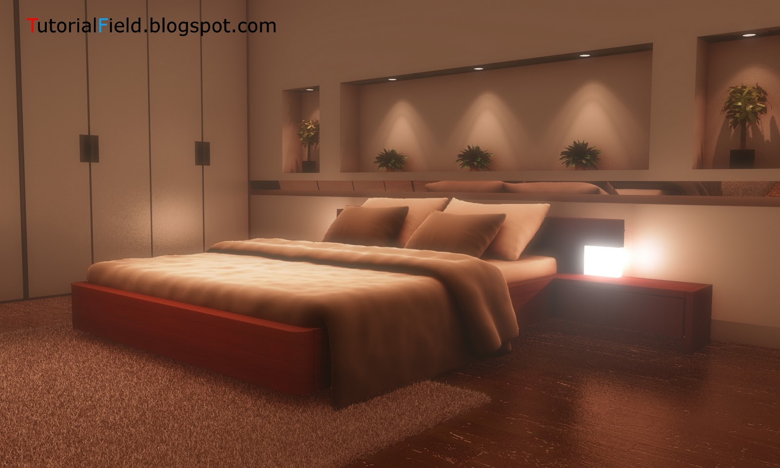 TutorialField blogspot com: Blender 2 6 - Internal render - Interior