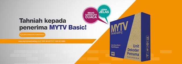 Panduan Pemasangan Dekoder Percuma MYTV Broadcasting