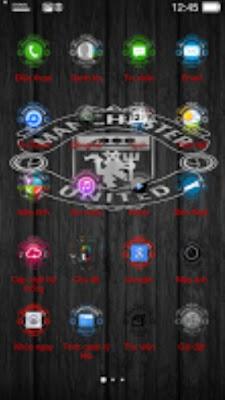 Kumpulan Tema Oppo Terbaik - Manchester United Android
