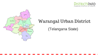 Warangal Urban District with Mandals