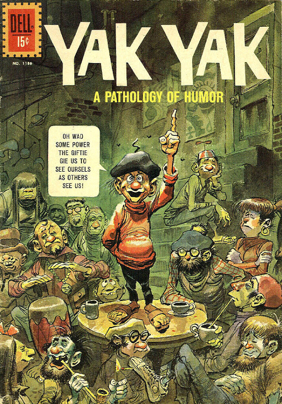 Four Color #1186: Yak Yak: A Pathology of Humor, by Jack Davis.