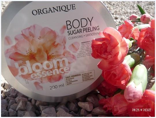 Organique Cukrowy peeling do ciała  Bloom Essence
