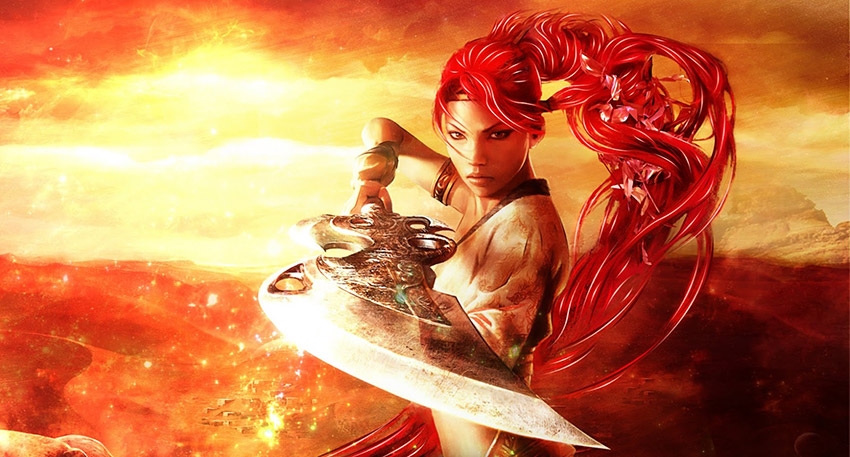 Heavenly Sword personajes