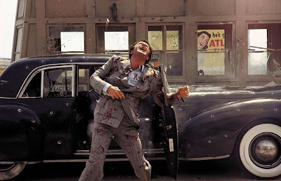 James Caan, Sonny Corleone Assassination Scene at Petrol Pump, Directed by Francis Ford Coppola
