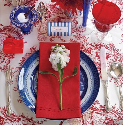 4th of July Table Settings Round Up