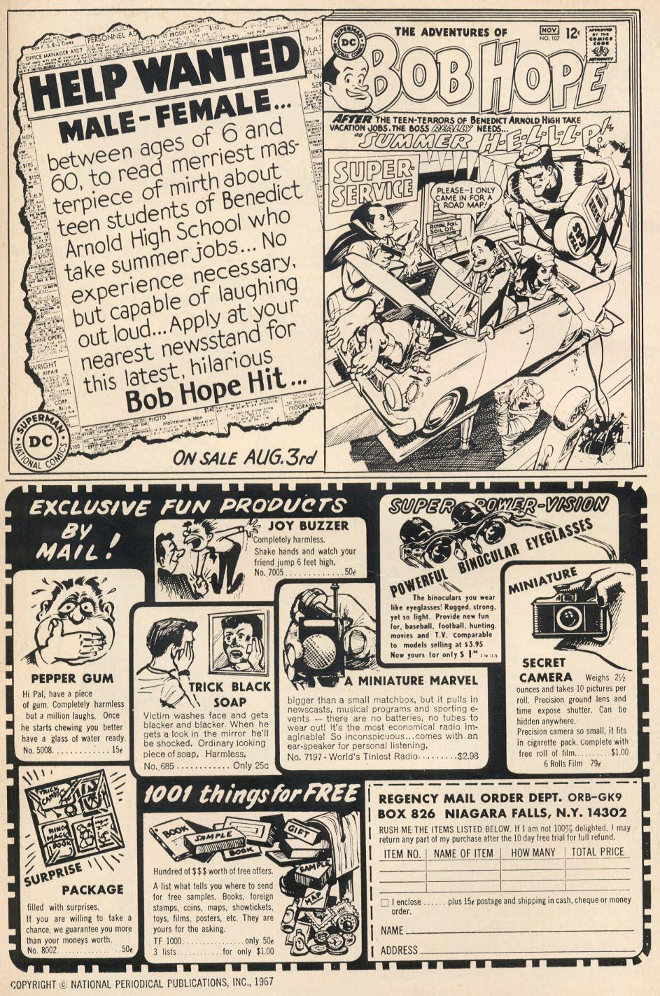 Strange Adventures (1950) issue 204 - Page 2