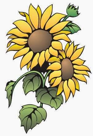 Gambar Siluet Bunga