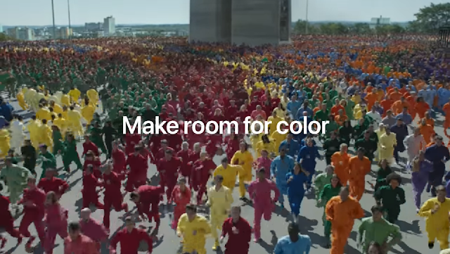 Apple Releases Creative 'Color Flood' Ad Campaign for iPhone XR