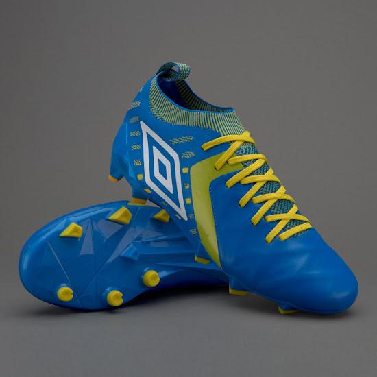 1811e90696 Umbro Medusae II Elite - Electric Blue / White / Yellow. The  next-generation Umbro Medusae II Elite soccer boot ...