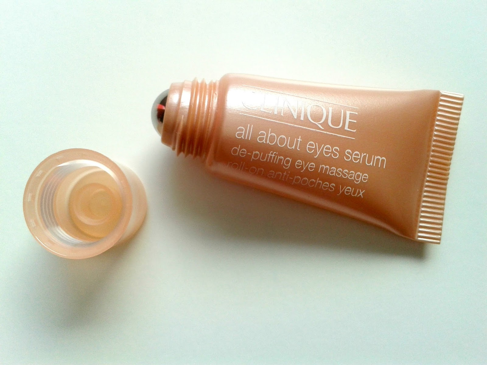 Clinique All About Eyes Serum De-Puffing Eye Massage Beauty Review