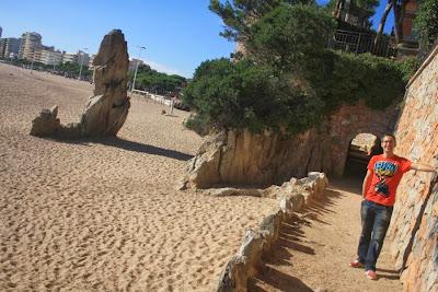 Camino de ronda en Platja d'Aro