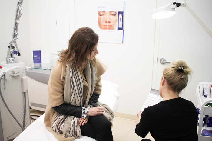 Fiore Skin Clinic Consultation with Suzanne