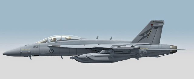 DEFENSE STUDIES: Australia's First EA-18G Enters Production