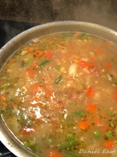 Daniel East's Classic Turkey Noodle Soup
