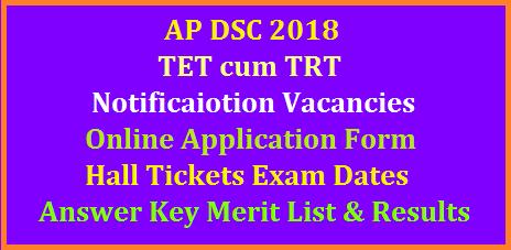 ap-dsc-2018-notification-schedule-vacancies-online-application-form-exam-dates-tet-cum-trt-hall-tickets-answer-key-merit-list-results-download