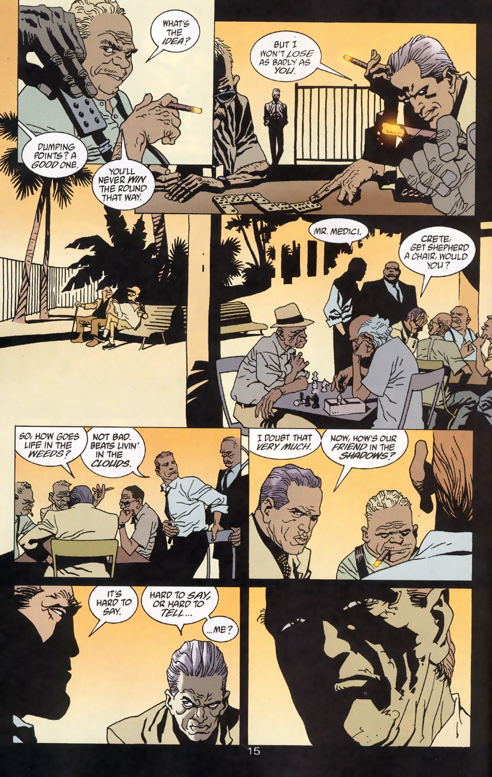 Read online 100 Bullets comic -  Issue #39 - 17