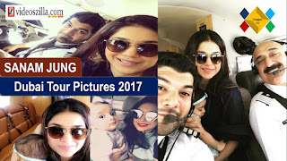 Sanam Jung With Husband Qassam And Baby Alaya Flying Off To Dubai