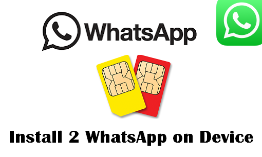 use two whatsapp on same device