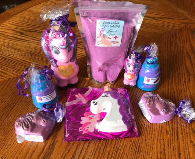 Vegan crunk my vegan easter gifts she placed her order there and just said my daughter likes unicorns and shes vegan and this is what they picked out for me negle Image collections