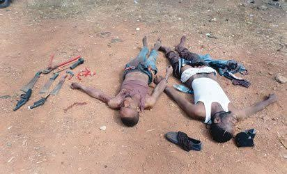 Suspected Armed Robbers Who Attacked Cocoa Merchant And His Son Arrested In Ogun