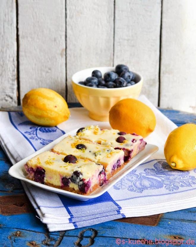 Blueberry Lemon Bars