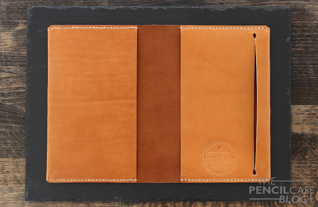 ONE STAR LEATHER NOTEBOOK COVER & PEN SLEEVE REVIEW