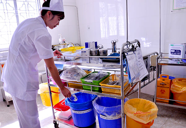 Quản lý chất thải rắn bệnh viện
