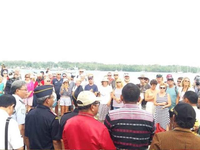 Acara Penyambutan Rombongan Wonderful Sail To Indonesia 2018 di Manyeuw