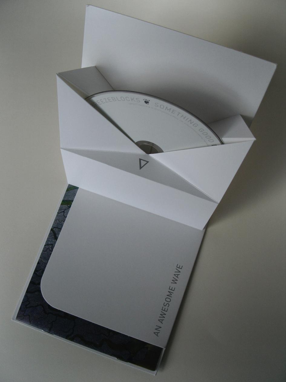 little man designs: Origami Album Sleeve - photo#17