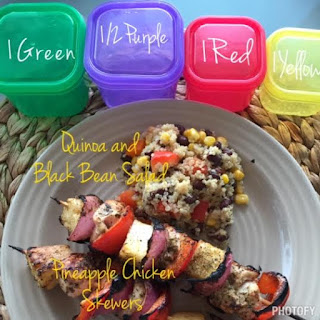 21 Day Fix, Cookbook, FIXATE, pineapple chicken skewers recipe, Autumn Calabrese, 21 Day Fix Containers recipe, vanessamc246, the butterfly effect, change one thing change everything