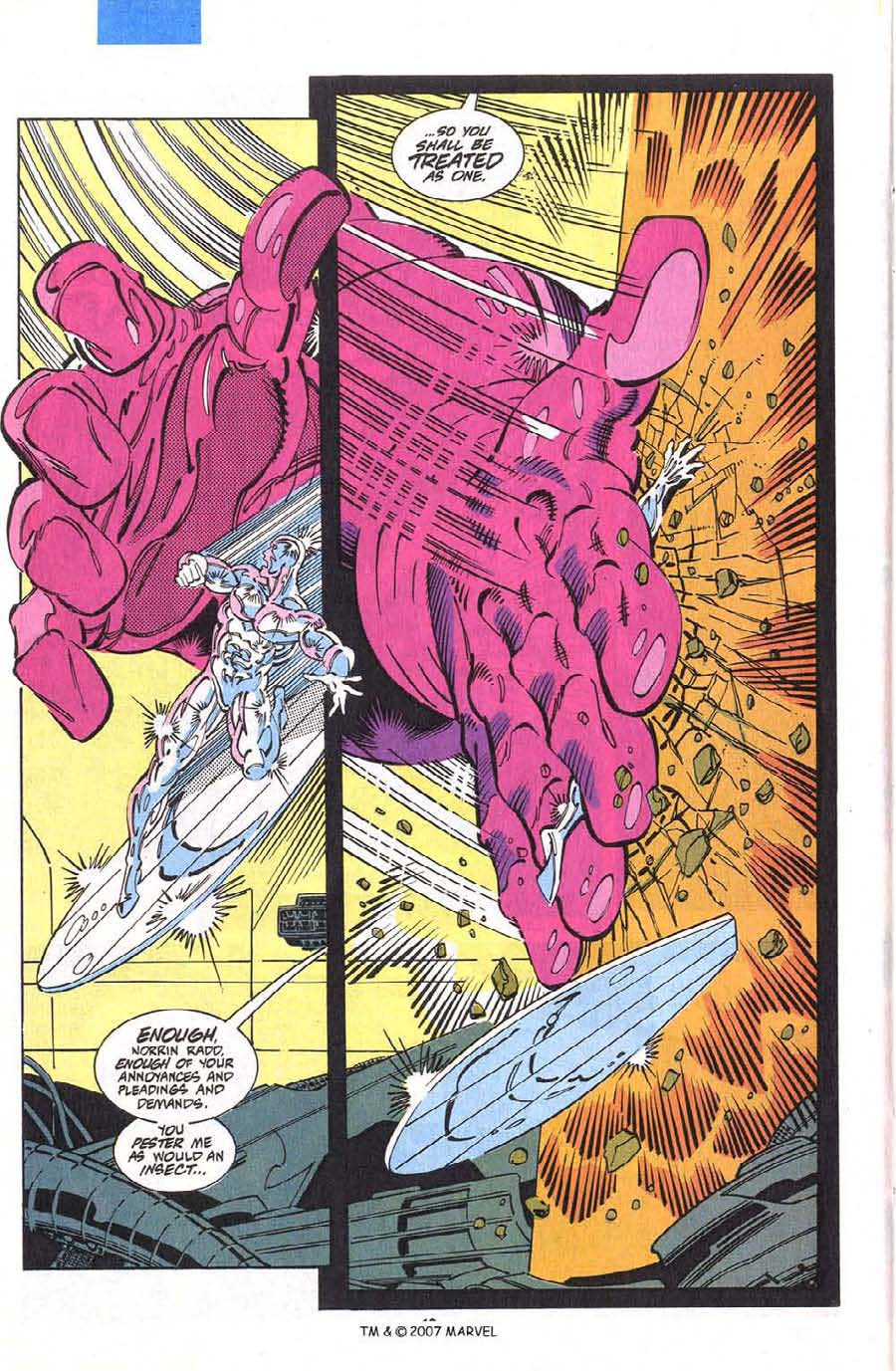 Read online Silver Surfer (1987) comic -  Issue #75 - 20