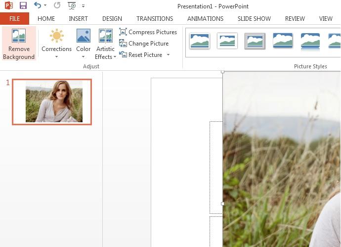click to remove photo background