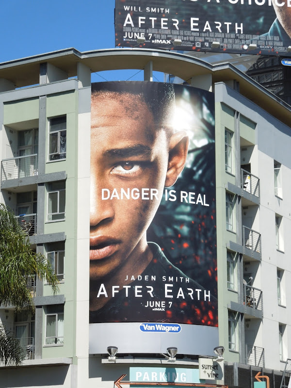 After Earth Danger is real billboard